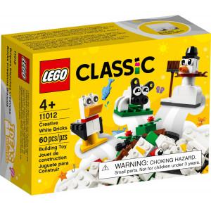 LEGO® CLASSIC Kreativ-Bauset mit weißen Steinen