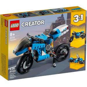 LEGO® Creator 3-in-1-Spielset Geländemotorrad