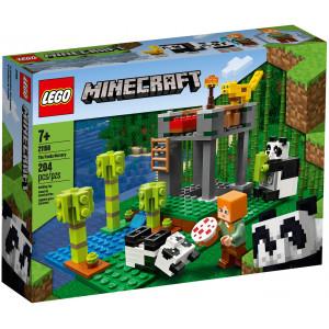 LEGO® Minecraft Der Panda-Kindergarten