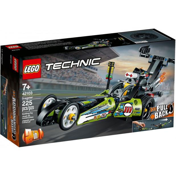 LEGO® Technic Set Dragster Rennauto